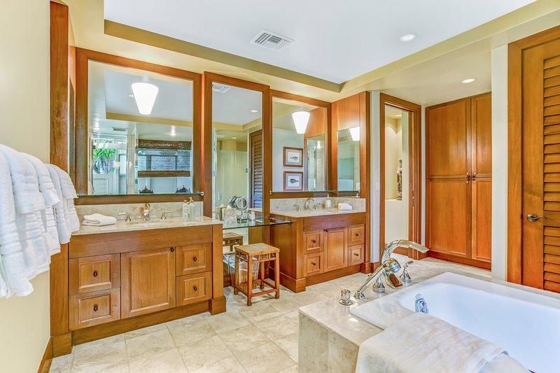 Elegant Master Bathroom with Double Vanity