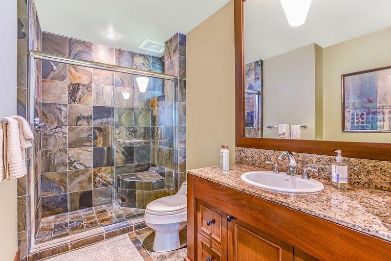 Third Bathroom with Walk-In Shower.
