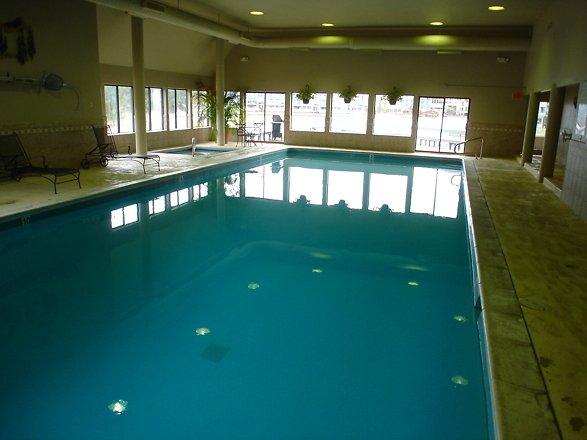 Indoor Swimming Pool at Montezuma