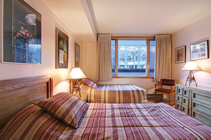 Guest Bedroom with separate sleeping space