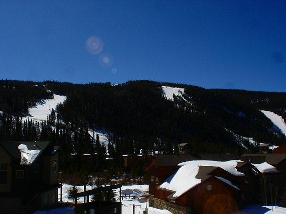 Vues de la montagne de ski Keystone