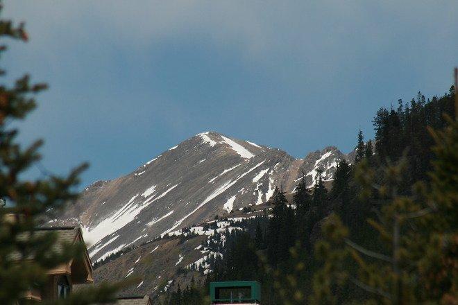 Super vue sur les montagnes!
