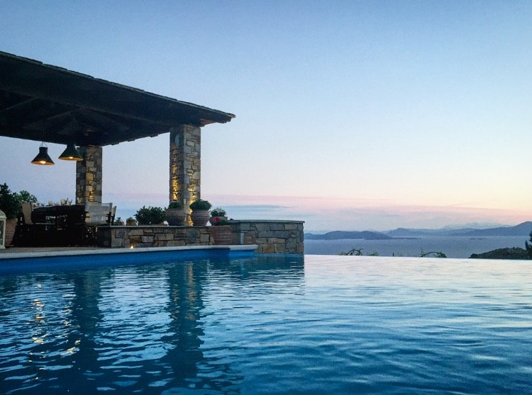 Akrolithos Villa - Private Pool│ Breathtaking View│ Luxurious Comfort, vacation rental in Milies