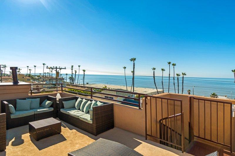 Roof  Top Deck Ocean View