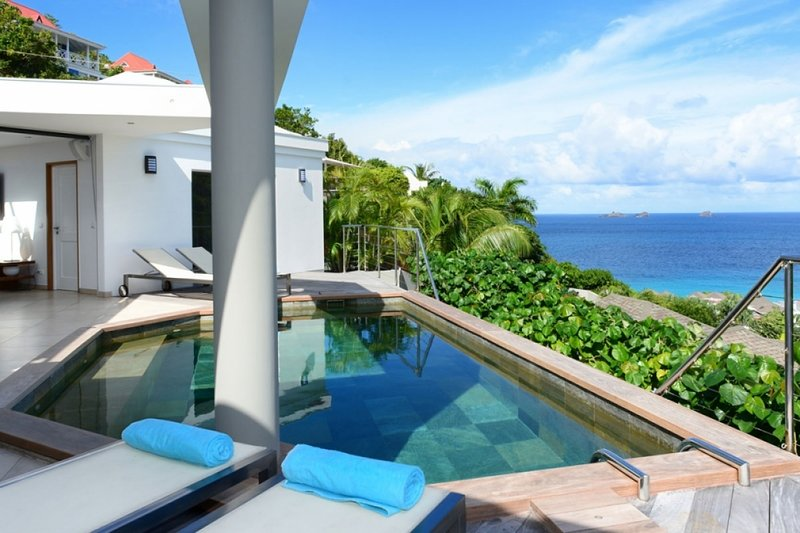 Villa Magic Bird | Ocean View - Located in Fabulous Flamands with Private Pool, vacation rental in Anse des Flamands