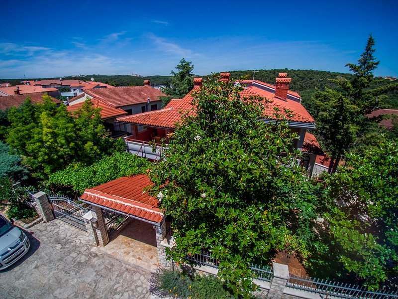 Villa MaVeRo aus der Luft