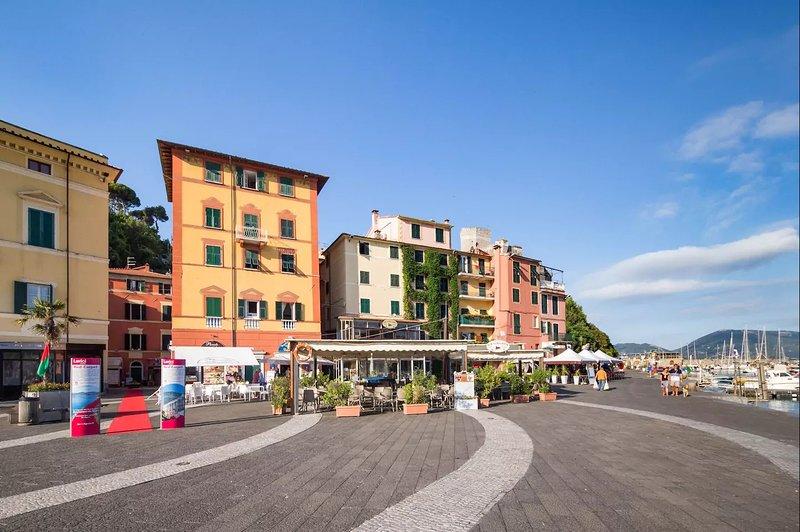 Lerici Central Piazza, Pedestrian Zone, Harbour, alquiler vacacional en Fiascherino