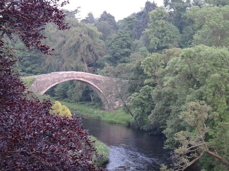 The beautiful Brig O'Doon. A short walk away.