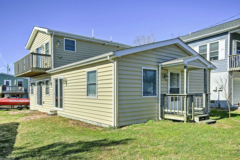 Cute Millsboro Home w/Sauna & Steam Room-Near Bay, alquiler vacacional en Frankford