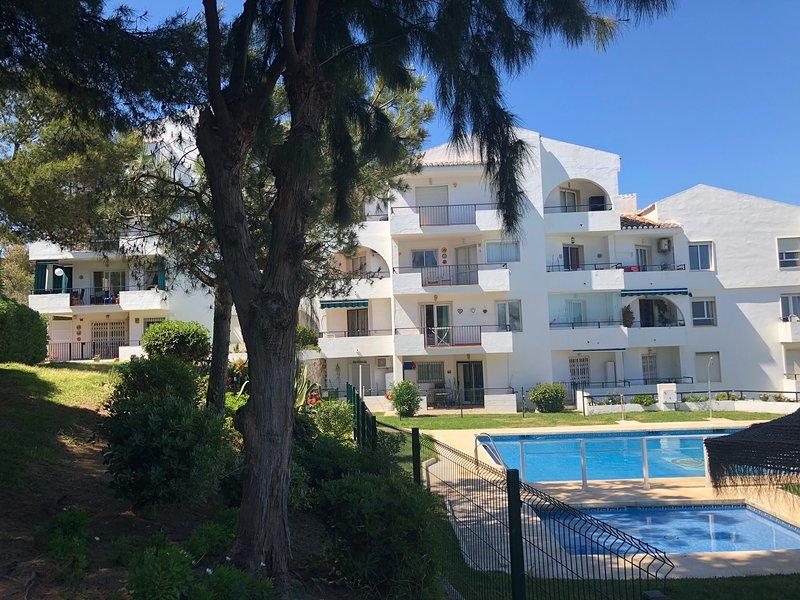 Vista Mar Garden Apartment in het midden blok, is de begane grond tegenover de zwembaden