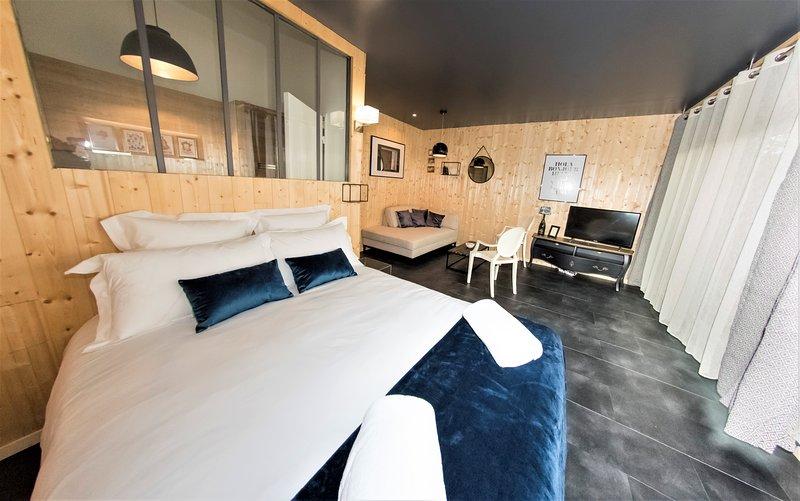 ❤ Le Chardonnay ❤ Hypercentre d'Epernay Terrasse + Netflix, location de vacances à Saint-Martin-d'Ablois