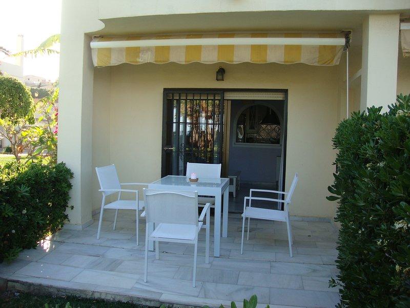 Apartment opposite the sea Las Mimosas DOSUL, alquiler de vacaciones en Mijas