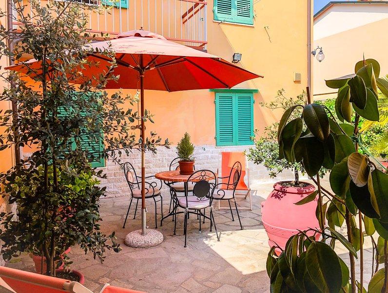 Appartamento nel cuore di Nozzano Castello, vacation rental in Arliano