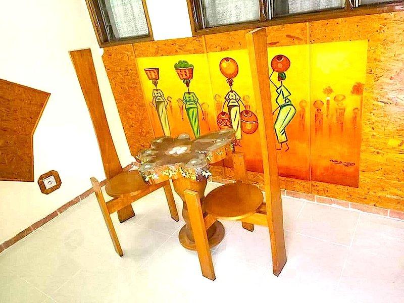 Residence Bonté Divine non loin du Sanctuaire Marial, location de vacances à Région des lagunes
