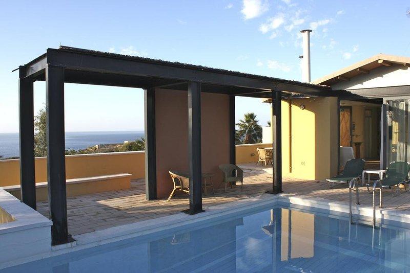Villa Hibiscus, vacation rental in Kounoupidiana