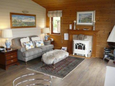 Open plan living area with doors to your verandah.