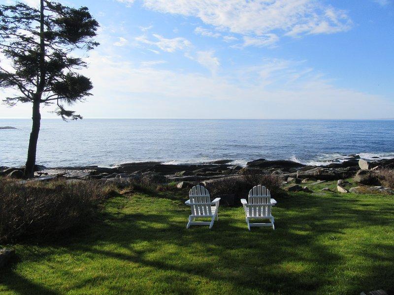 The Artist's Box : An Adorable Ocean Front Cottage, alquiler vacacional en New Harbor