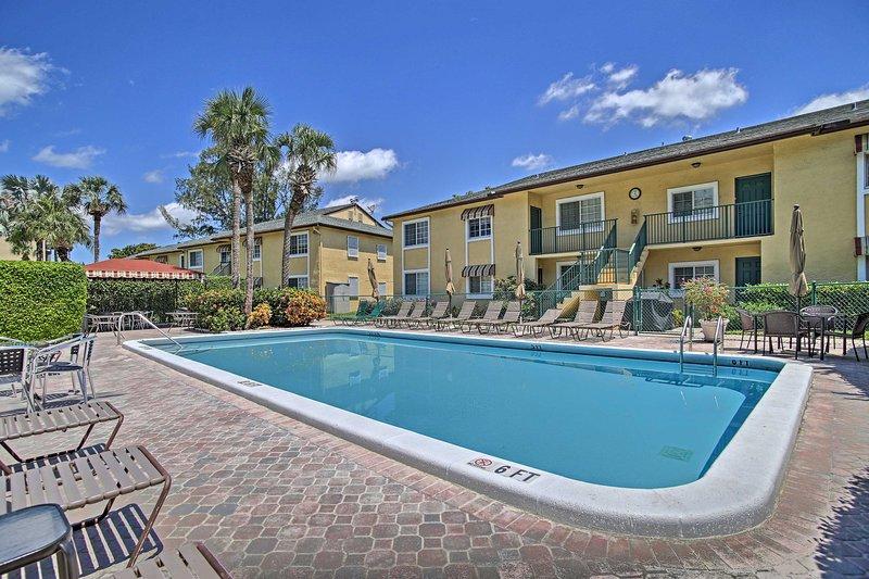 Beat the heat by splashing around in the community pool!