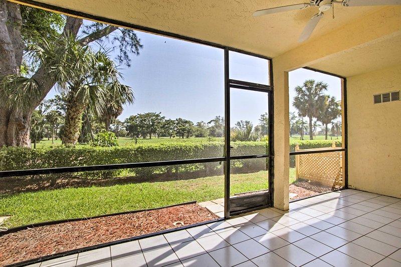 Warm rays of Florida sunshine await at this vacation rental condo!