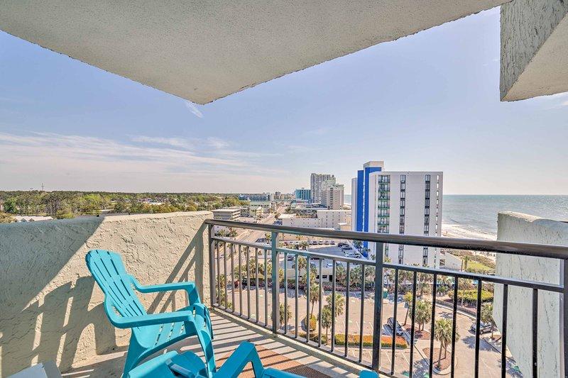 Pak je koffers voor Myrtle Beach en verblijf in dit charmante vakantiewoning condo!