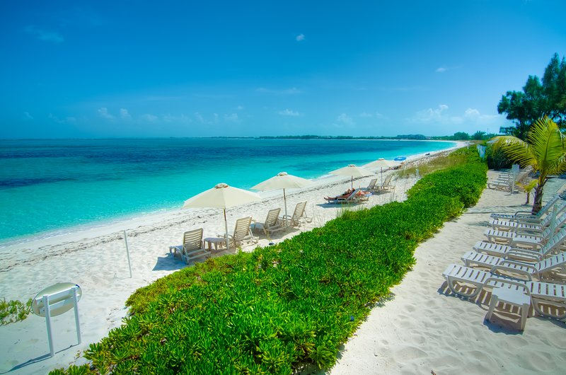 White Sand and Crystal Clear Water for as far as the eye can see!!!