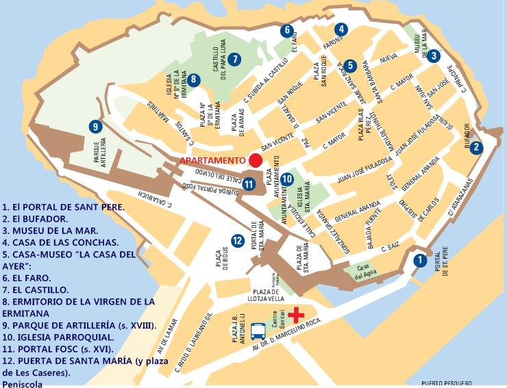 Apartamento En El Castillo De Peniscola Peniscola Espana