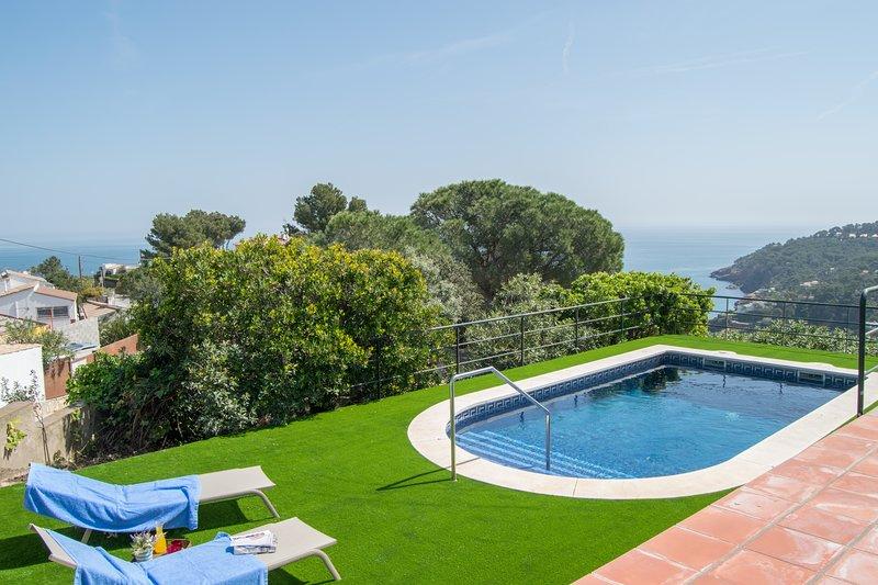 Pool and garden - SA PUNTA COSTA BRAVA
