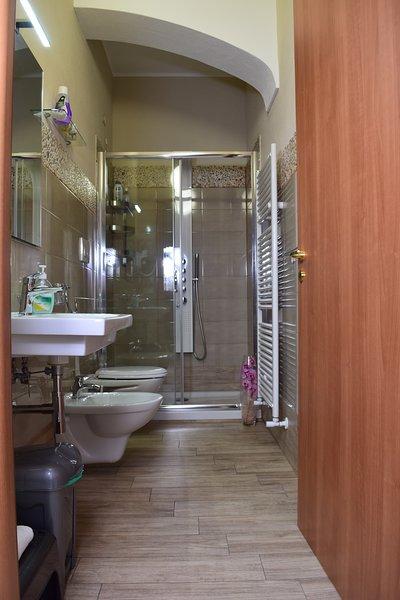 Bagno in camera Bellavista.