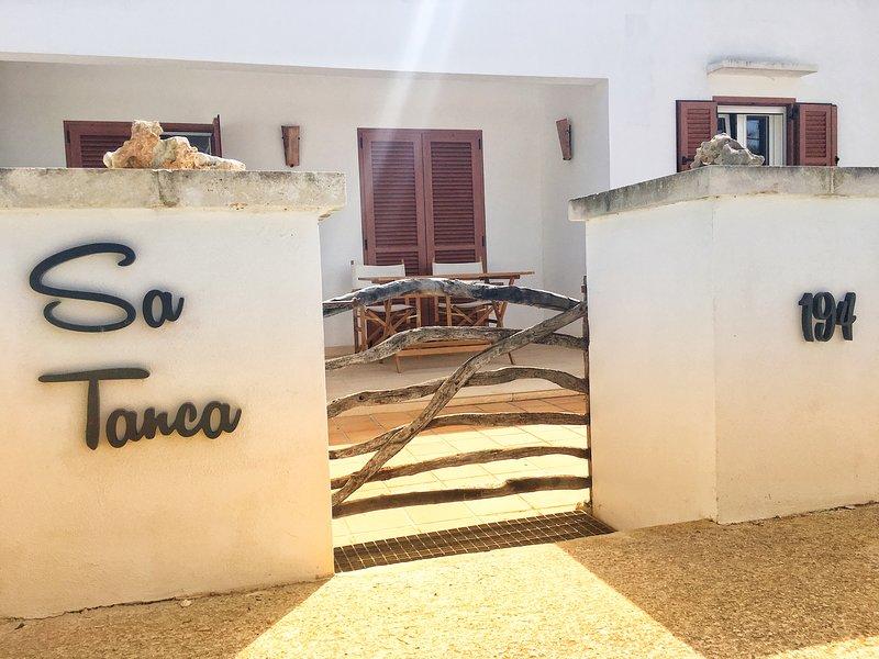 SA TANCA, alquiler vacacional en Menorca