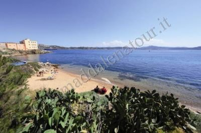 Punta Nera beach below the house
