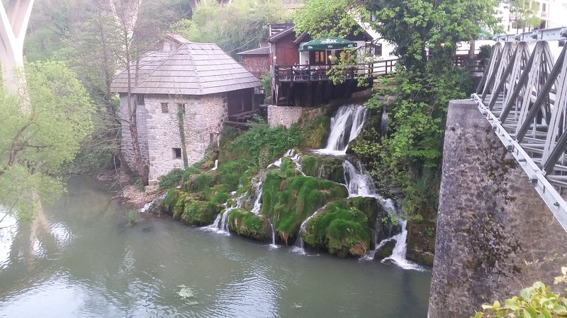 Rastoke waterfalls.