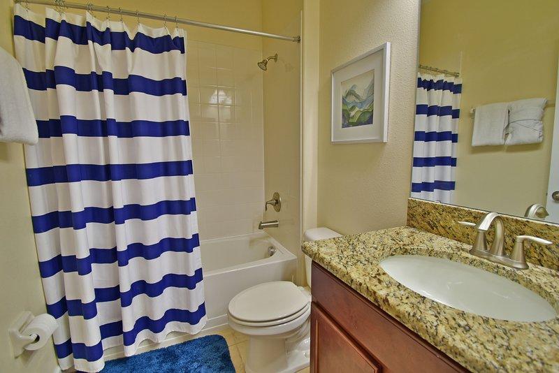 Bathroom adjacent to bedroom 3