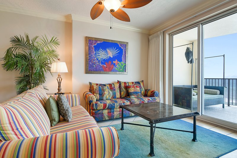 Ocean Villa 704-Wohnbereich