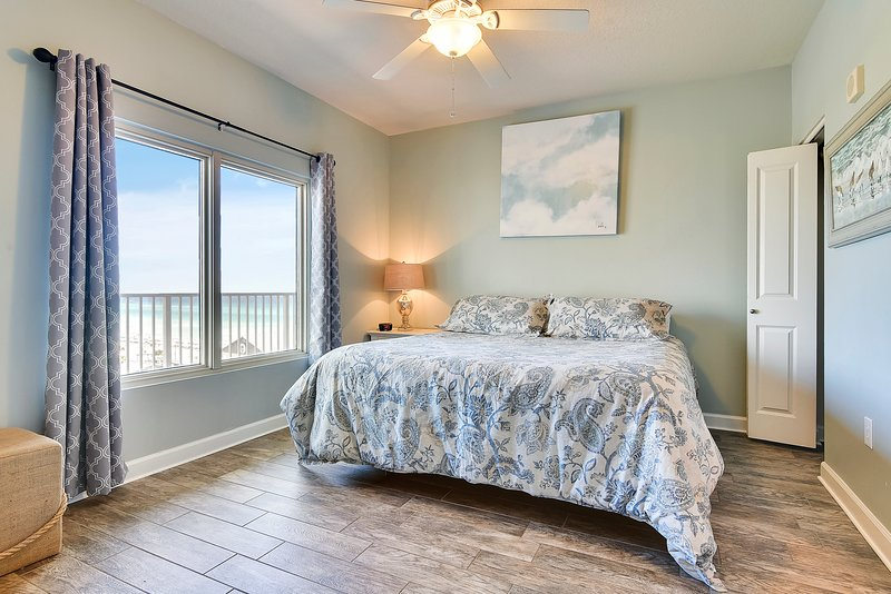 Shores of Panama 624-Master Bedroom with King Bed