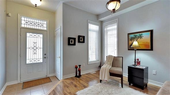 Front entrance with adjoining Parlour