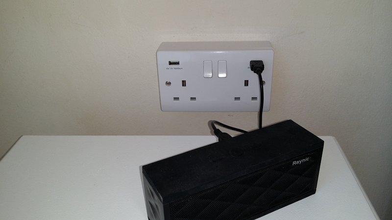 prises USB dans chaque chambre
