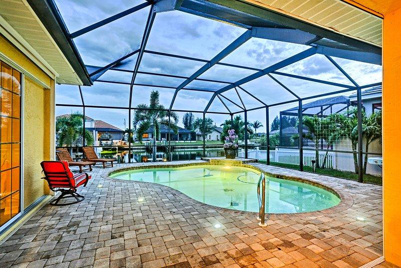 Cape Coral vous accueille dans cette dynamique et mise à jour des vacances maison de location!