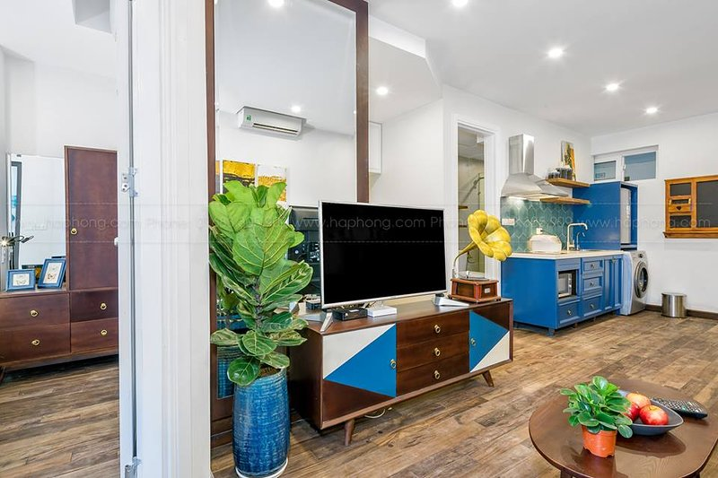 Mid Century, City view 2 bed room apartment, vacation rental in Da Nang