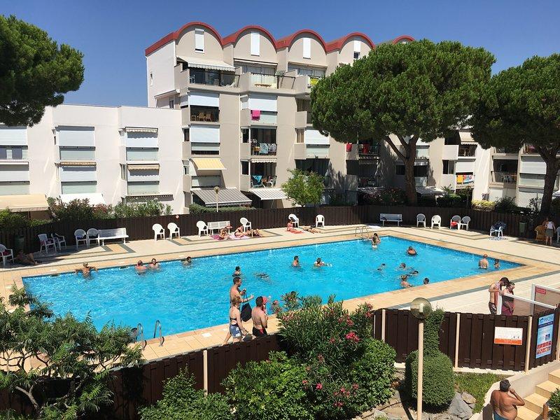 studio estival résidence piscine et solarium.farniente!!!