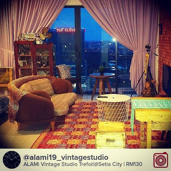 ALAMi Vintage Studio, Trefoil, vacation rental in Klang