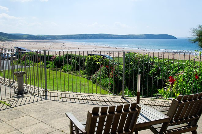 Cliffside Garden Flat a Stunning seafront setting for the delightful apartment, alquiler vacacional en Woolacombe