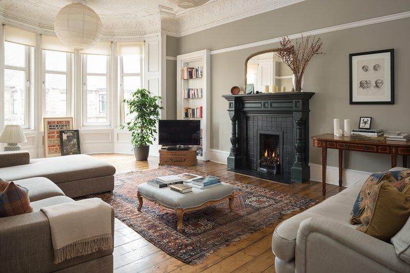 Lovely flat in the heart of Hyndland, holiday rental in Bearsden