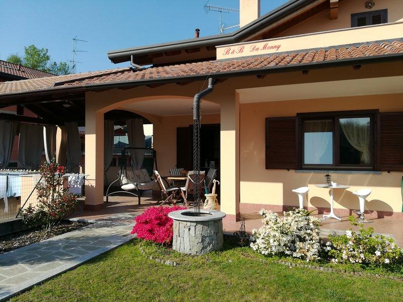 B&B da Monny, holiday rental in Gattico