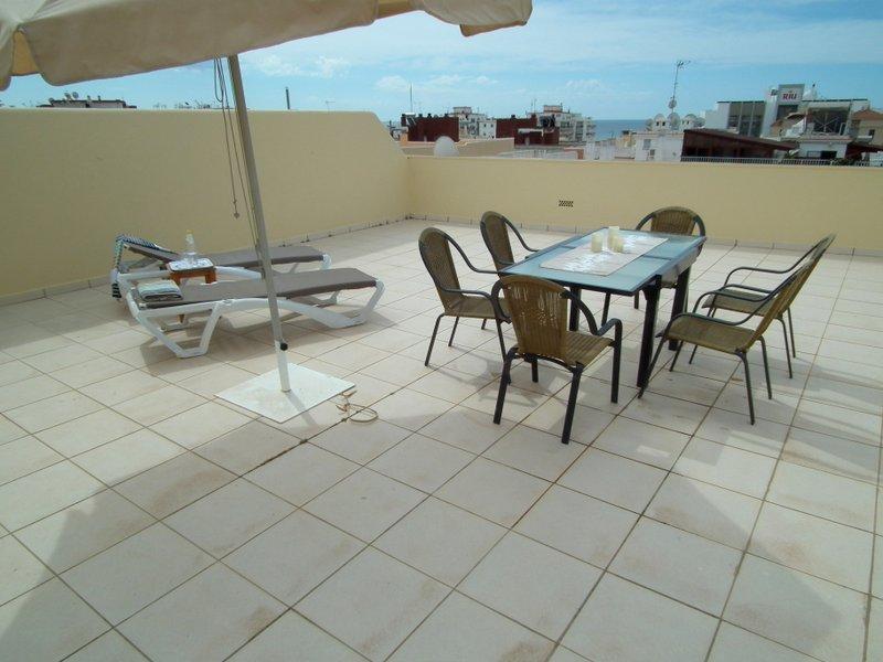 terraza solarium privada