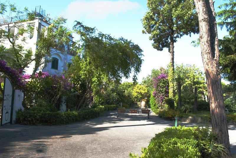 Eingang private Parks