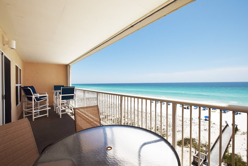 Balcony Islander Beach 6009 Fort Walton Beach Okaloosa Island Vacation Rentals