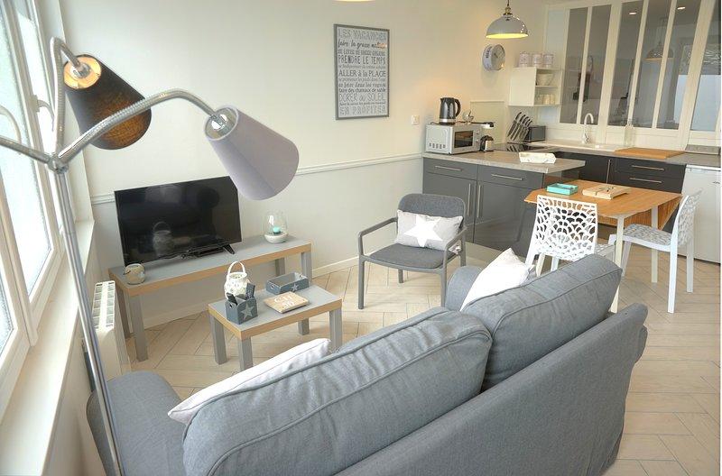 Appartement proche de la plage, alquiler de vacaciones en Saint-Jean-de-la-Riviere