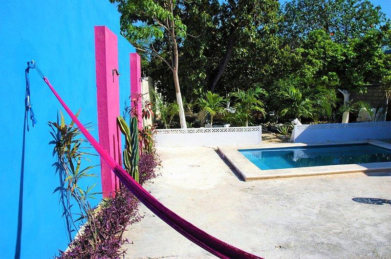 'Casa Ku' Colonial House Downtown w/Private Pool, location de vacances à Merida