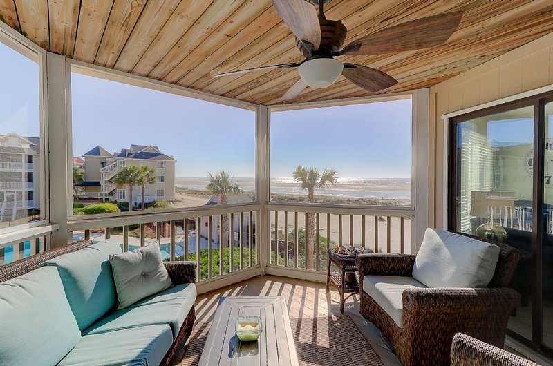 Screen Porch with Outstanding Ocean Views!