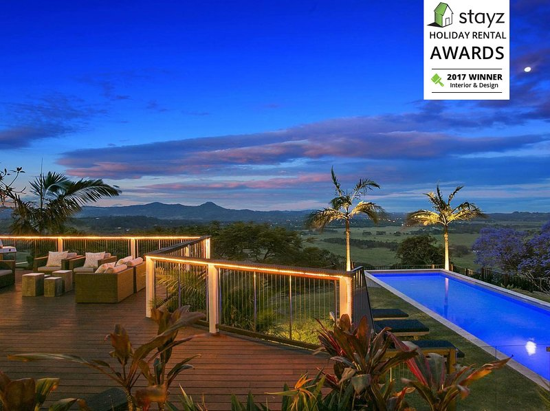 Byron Hinterland At Eqeleni Award Winning Retreat, location de vacances à Wilsons Creek